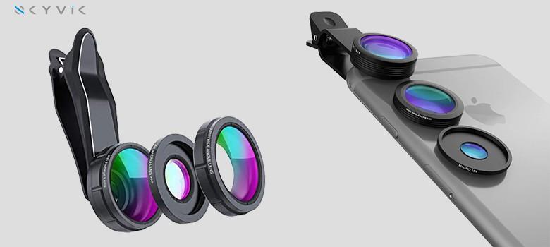 S K Y V I K S I G N I 3 In 1 Mobile Camera Lens Kit