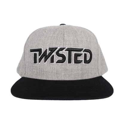 Hat - Grey w/ Black logo