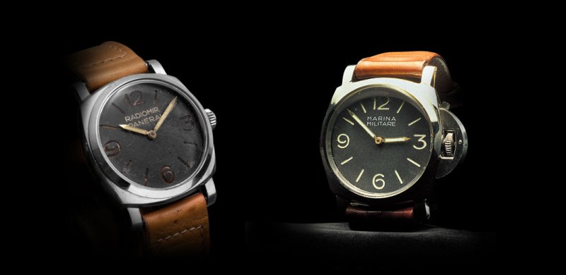 Panerai Radiomir and Luminor