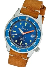 Squale 1521 Collection 500 Meter dive watch.