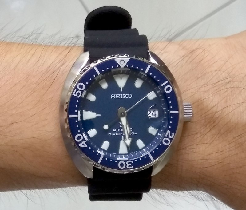 Seiko Mini Turtle.