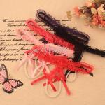 single lace thong