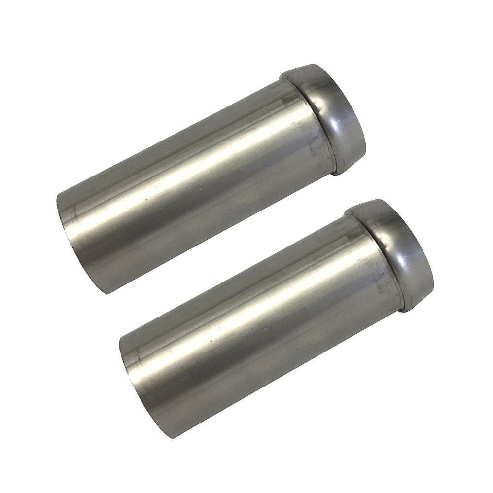 exhaust head tube flange for evolution and twin cam harley davidson