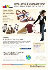 EDM design for eBay - fashion