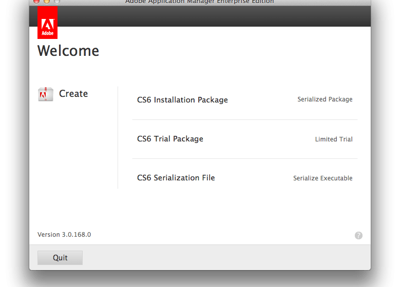 Adobe CS6 Enterprise Deployment with Mac OS X