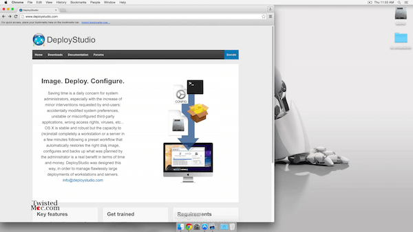 How To Setup DeployStudio With OS X Yosemite 10.10.4 Server