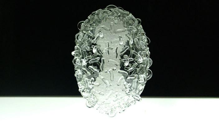 small pox virus closeup luke jerram The Most Deadliest Art in the World