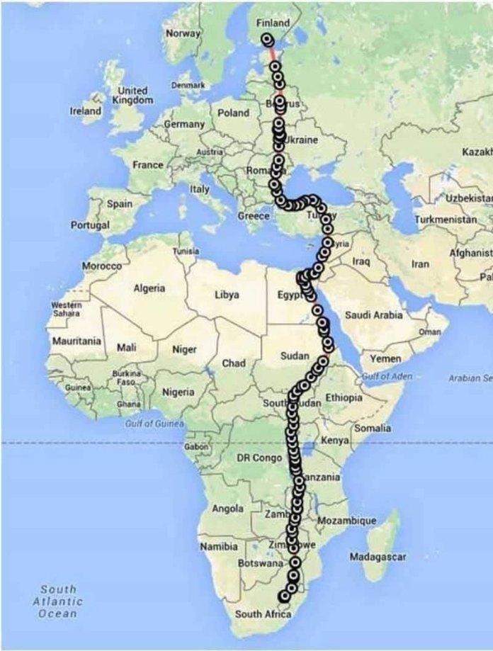 10000 km bird flight map This Amazing Bird Traveled Over 10,000 km in Just 42 Days