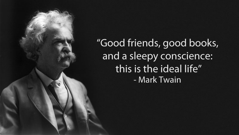 15 Famous Quotes on Friendship     TwistedSifter mark twain quote on friendship 15 Famous Quotes on Friendship