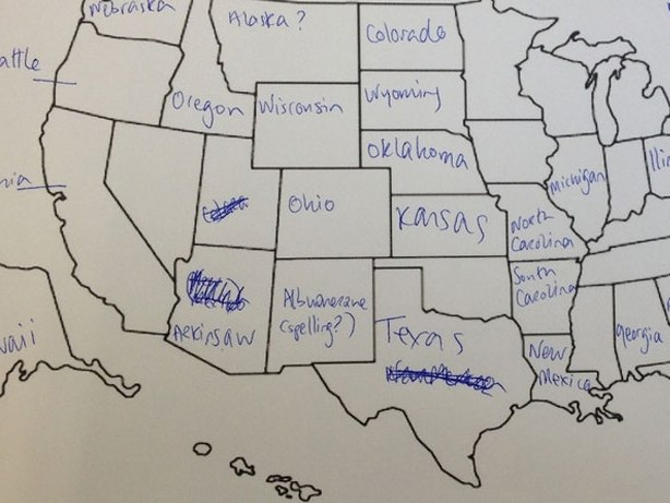 HD Decor Images » This is What Happens When Americans are Asked to Label Europe and     british students asked to label a map of the united states  3