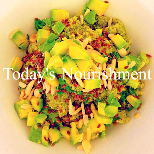 Today's Nourishment