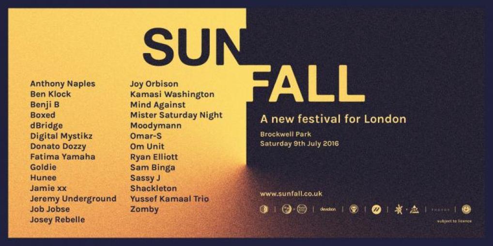 Sunfall Line Up