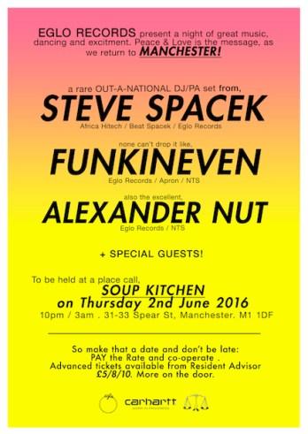 SOUP KITCHEN Steve Spacek & Guest