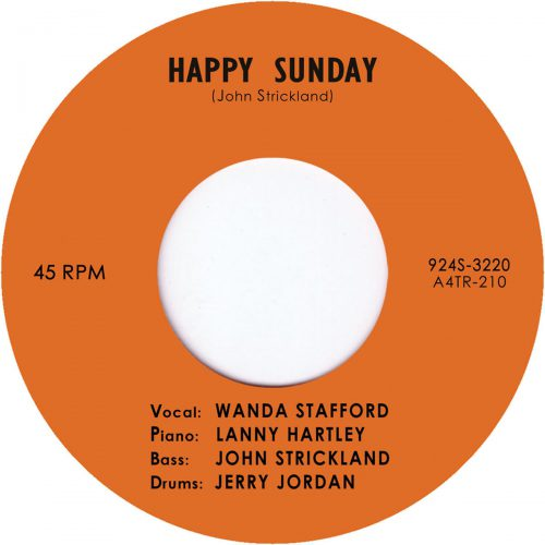 Happy Sunday b/w Blue Guitar by Wanda Stafford
