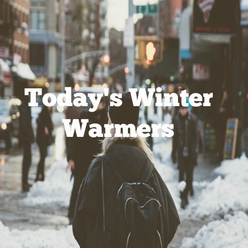 Today's Winter Warmers
