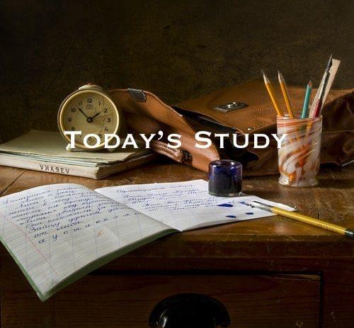 Playlist: Today's Study