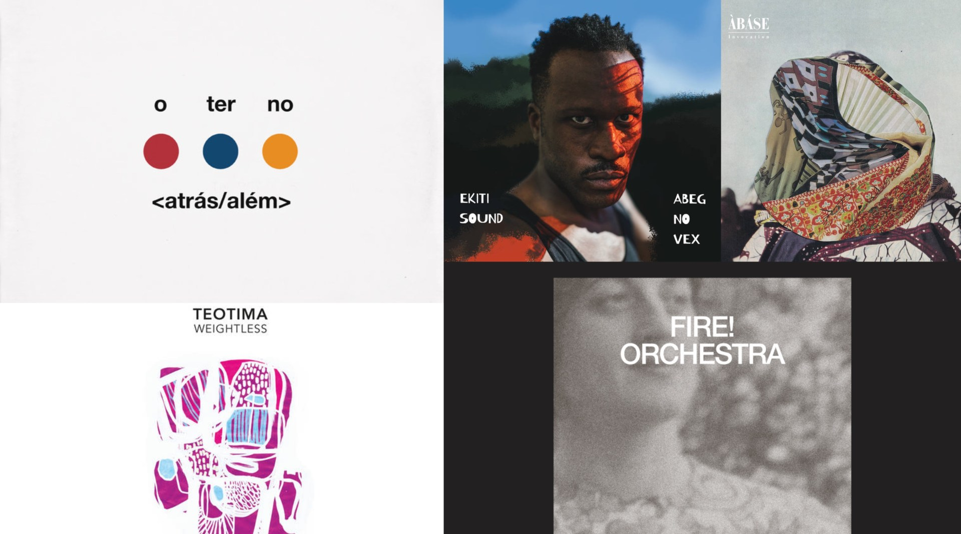 Five new releases you may have missed but need to hear.