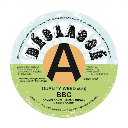 BBC – Bovell, Brown & Cobby – Quality Weed EP.