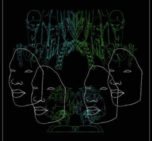 Dumama & Kechou are releasing their debut LP, titled Buffering Juju, via Mushroom Hour Half Hour.