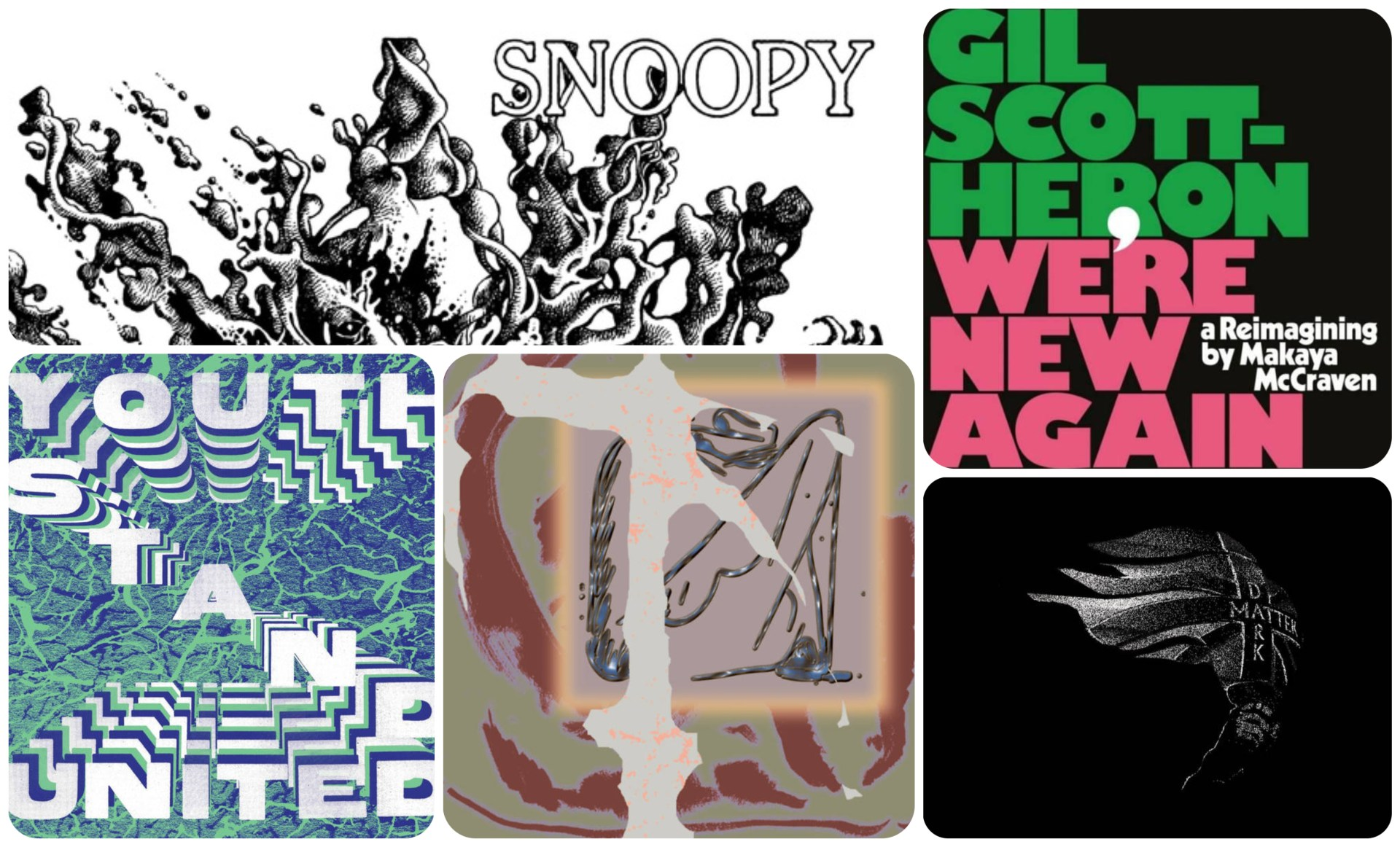 Five new albums, from across the musical soundscape, that require your attention.