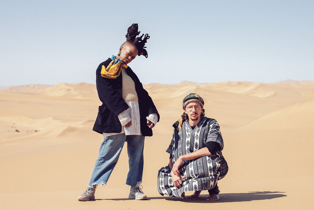 Dumama & Kechou are releasing their debut LP, titled Buffering Juju.