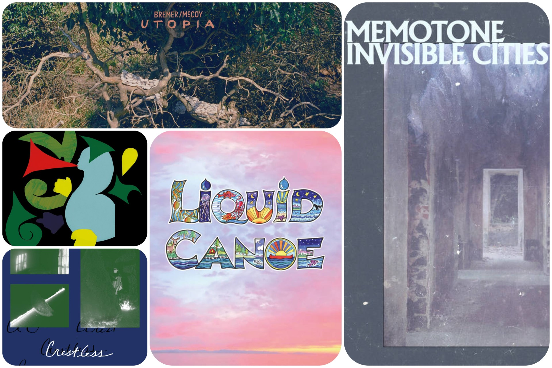 Each week we select five new albums - releases, from across the musical soundscape, that require your attention.