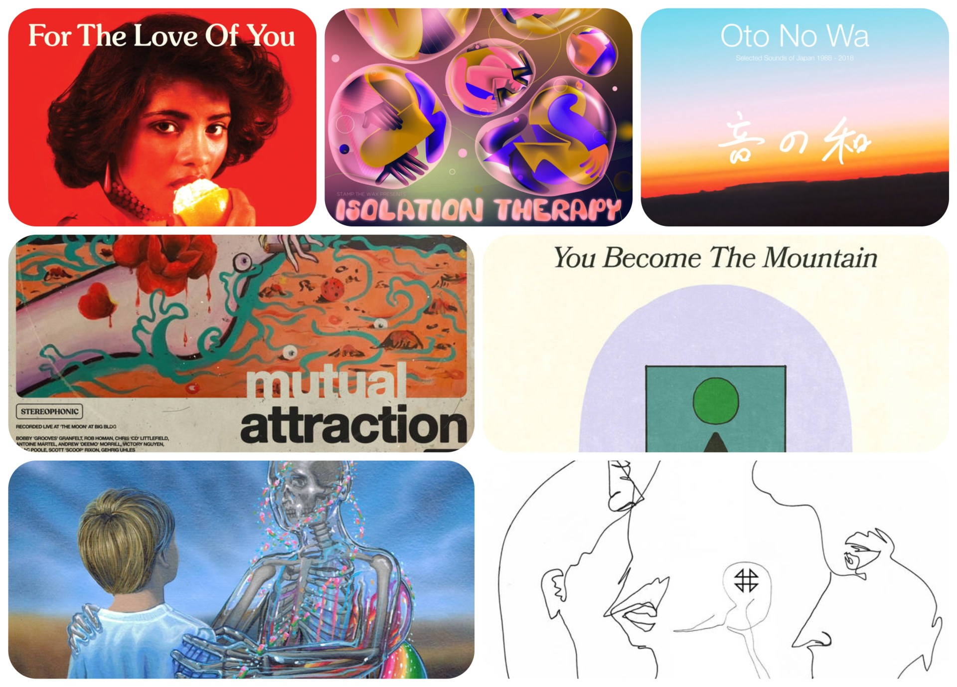 Each week we select new albums/releases, from across the musical soundscape, that require your attention.