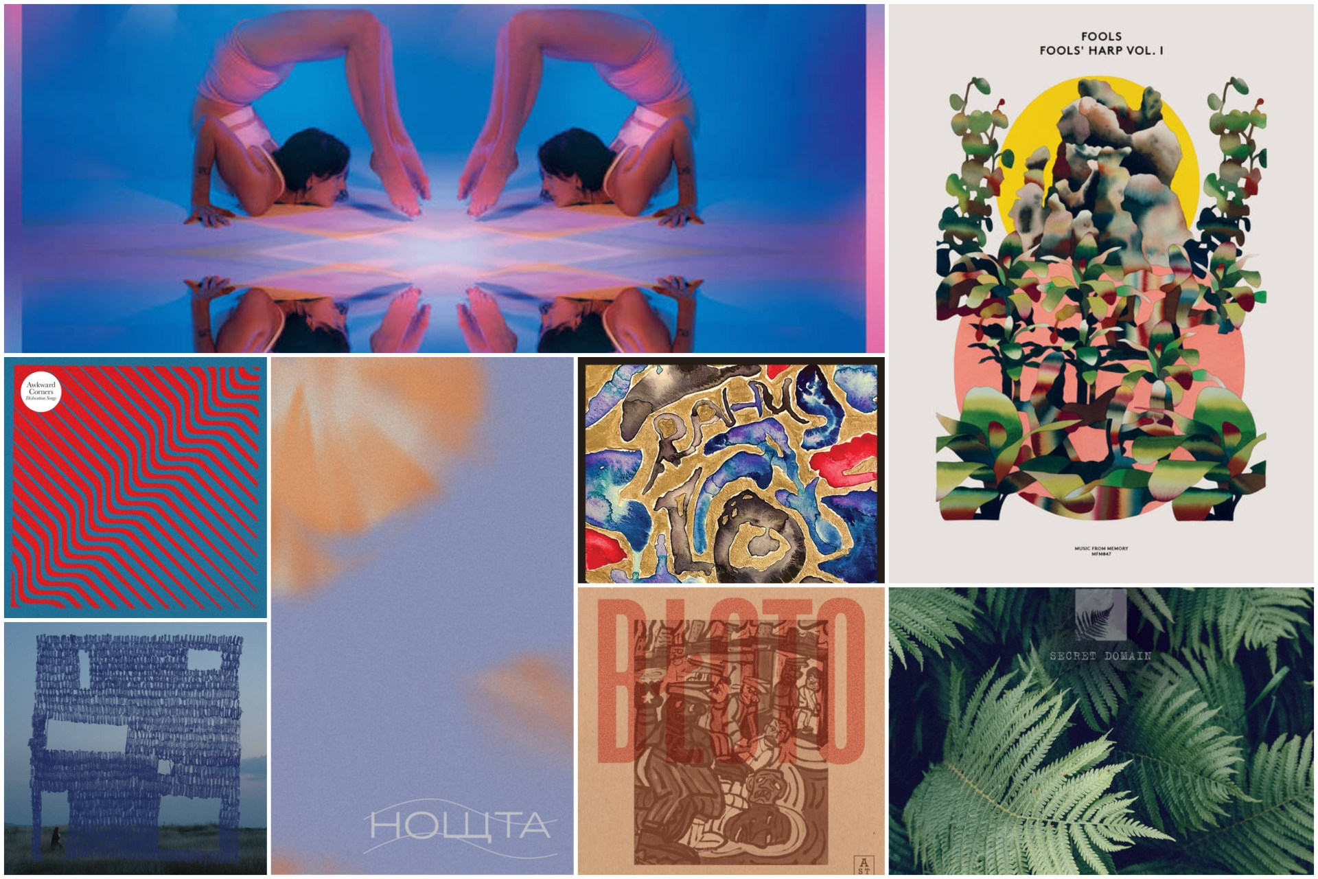 Stream new releases from Fools, Hania Rani, Bloto, Sanjib and more.