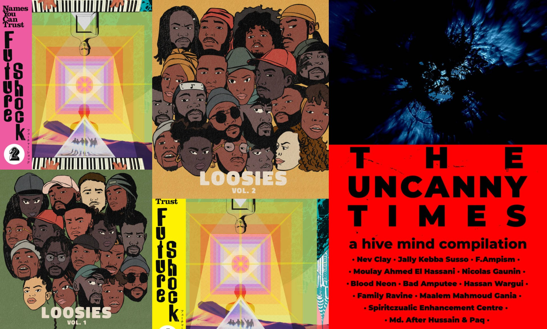 Hive Mind Records, K15 and more.