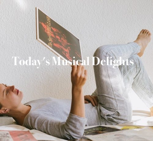 Sit back and take in our new music playlist!