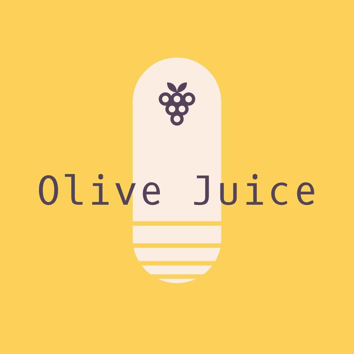 Gerinov - Olive Juice Mix!