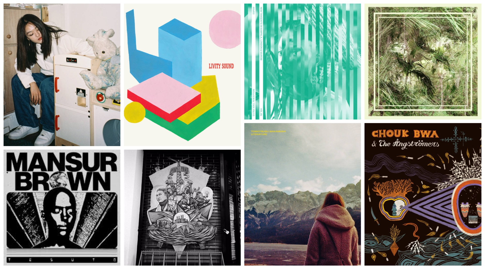 Our latest collection of the best new releases.