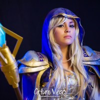 Lizzy D Crown is Jaina Proudmoore