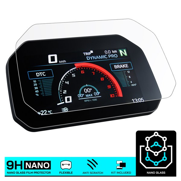 Speed O Angels Nano Glass TFT Screen Protector For BMW - Twisted Trails