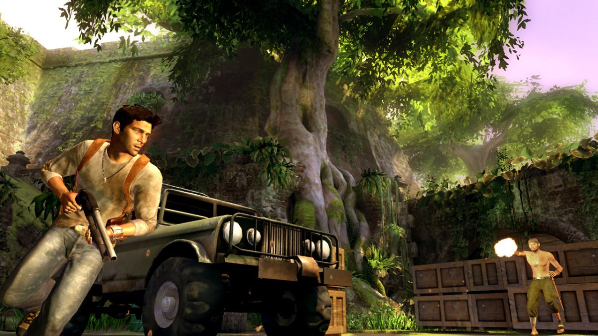 Uncharted Once Had Classic Tomb Raider System, Naughty Dog Changed It After Gears of War