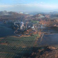 Cyberpunk 2077 In-Game World Map Seen In Concept Art, New Screenshot Shared