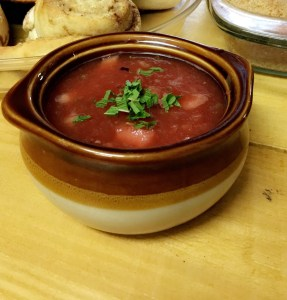 Photograph of Thai Watermelon Gazpacho