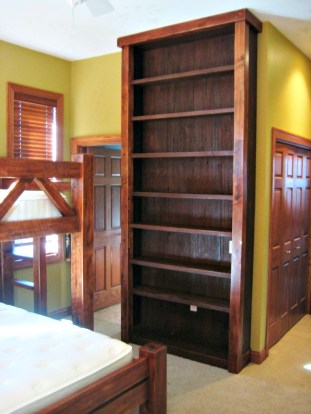133 bunk bed shelving
