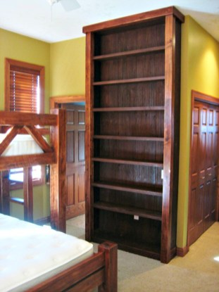 133 bunk bed shelving