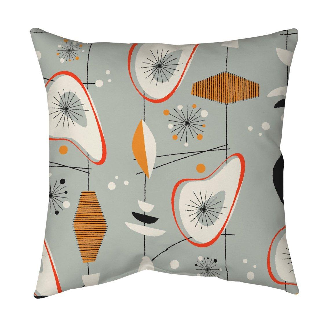 Mid Century Modern Pillow by Blend Home - Twist Modern