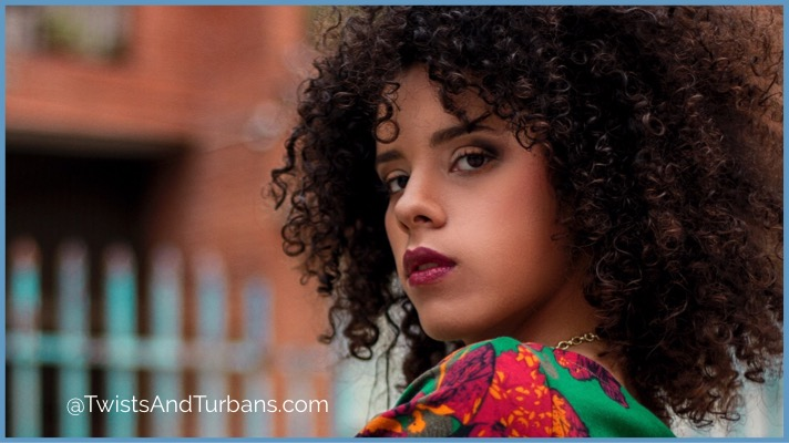 Maintain natural hair with minimal products