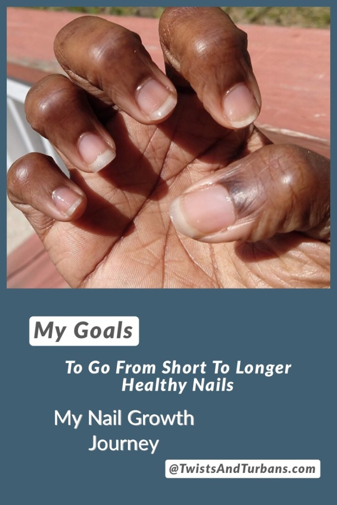 my nail growth journey