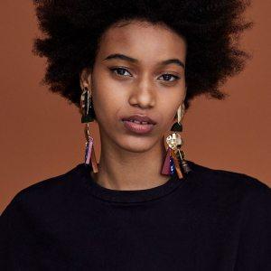 Women's African Tassel Earrings