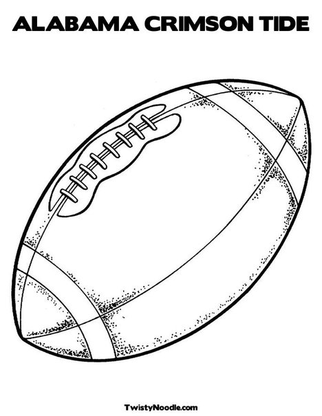 Alabama Coloring Pages Football. flag colouring. coloring ...