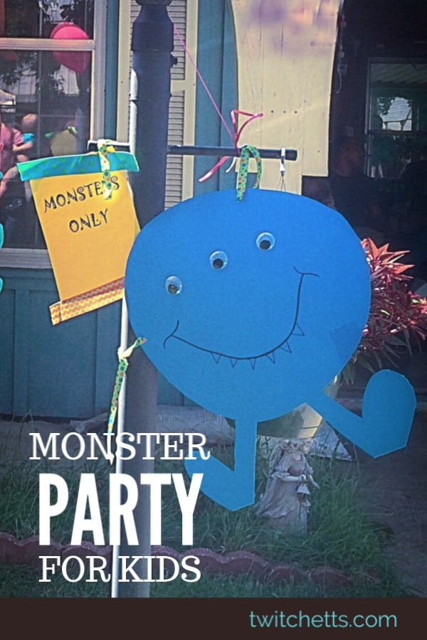 Monster Themed Birthday Party Twitchetts