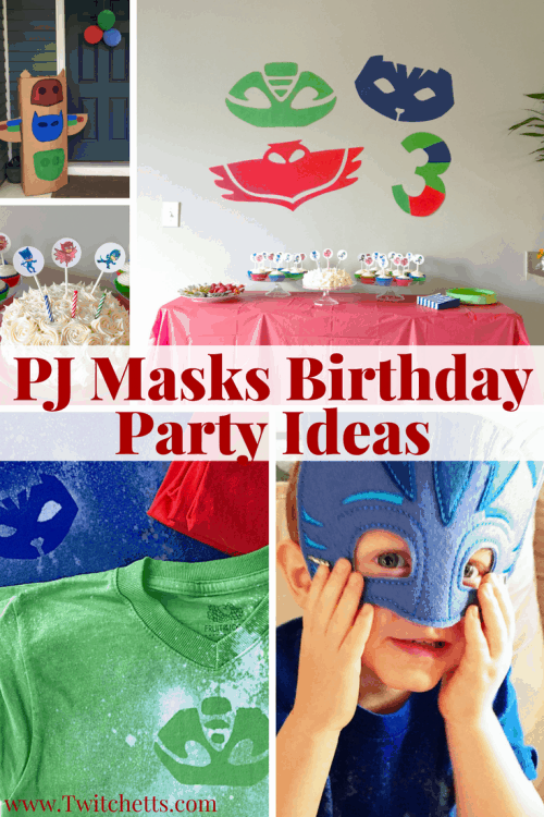 13 Pj Masks Birthday Party Ideas That Will Make Your Party Amazing Twitchetts