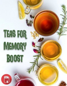 Teas for memory boost