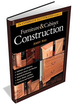Construction of Furniture and cabinets.