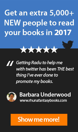 Get an extra 5,000+ NEW people to read your books in 2016.