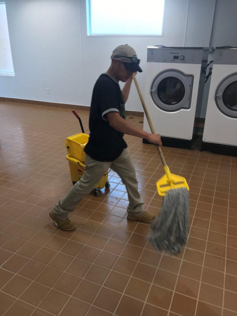 Fairfield Inn Suites Hotel Marriott Post Construction Cleaning in Van Texas 004 768x1024 Hotel Marriott Post Construction Cleaning in Van, TX